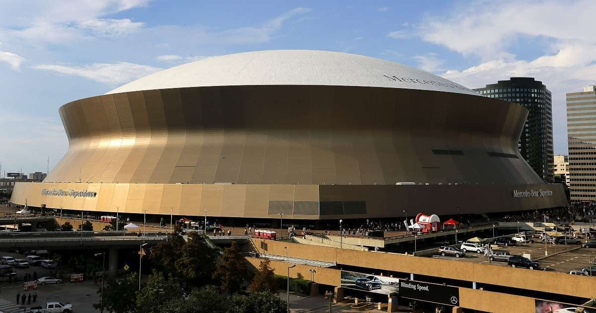 New Orleans Saints home stadium change name