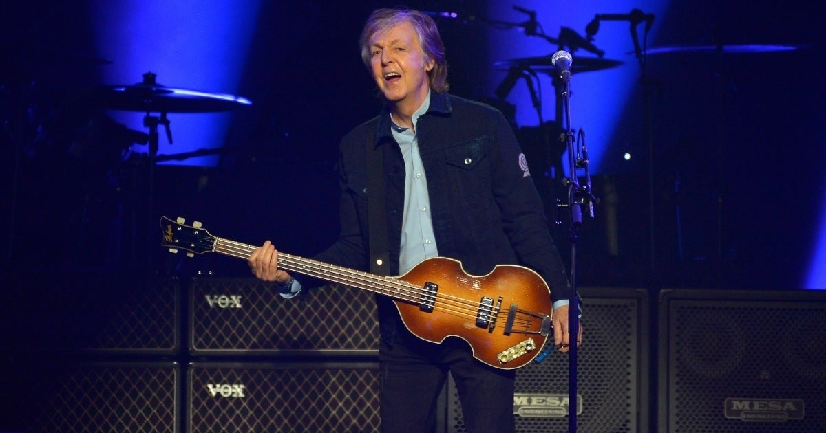 paul mccartney getty images