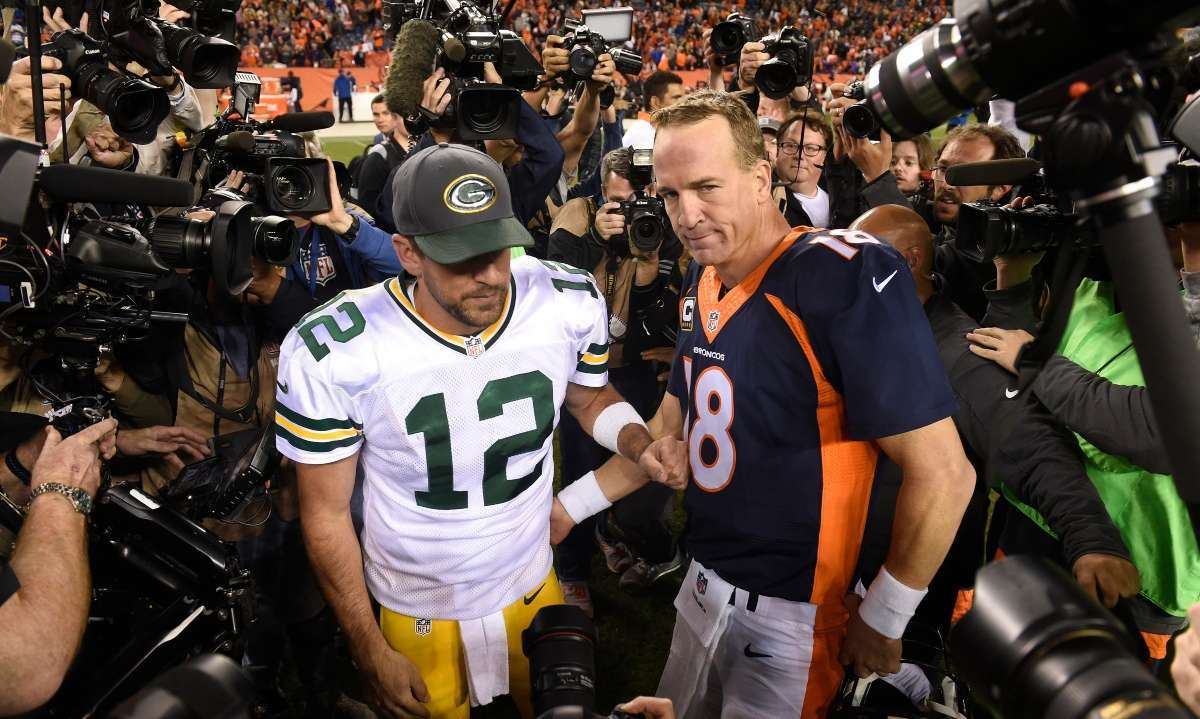 Peyton Manning reacts Aaron Rodgers possibly not playing football 2021