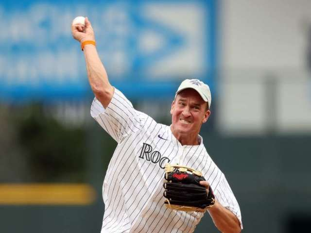 Watch: Peyton Manning Throws out the First Pitch at the MLB All-Star Game