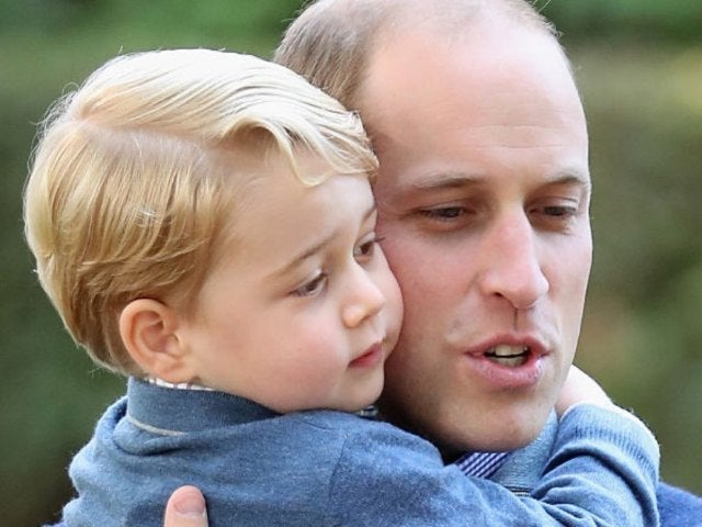 Prince George and Dad Prince William Twin in Colorful Ties at Soccer Game