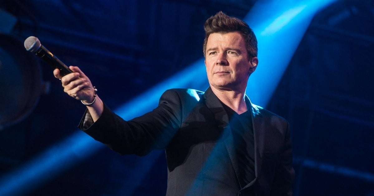 rick astley getty images