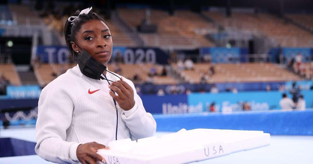 Simone Biles reveals why withdrew Olympics finals