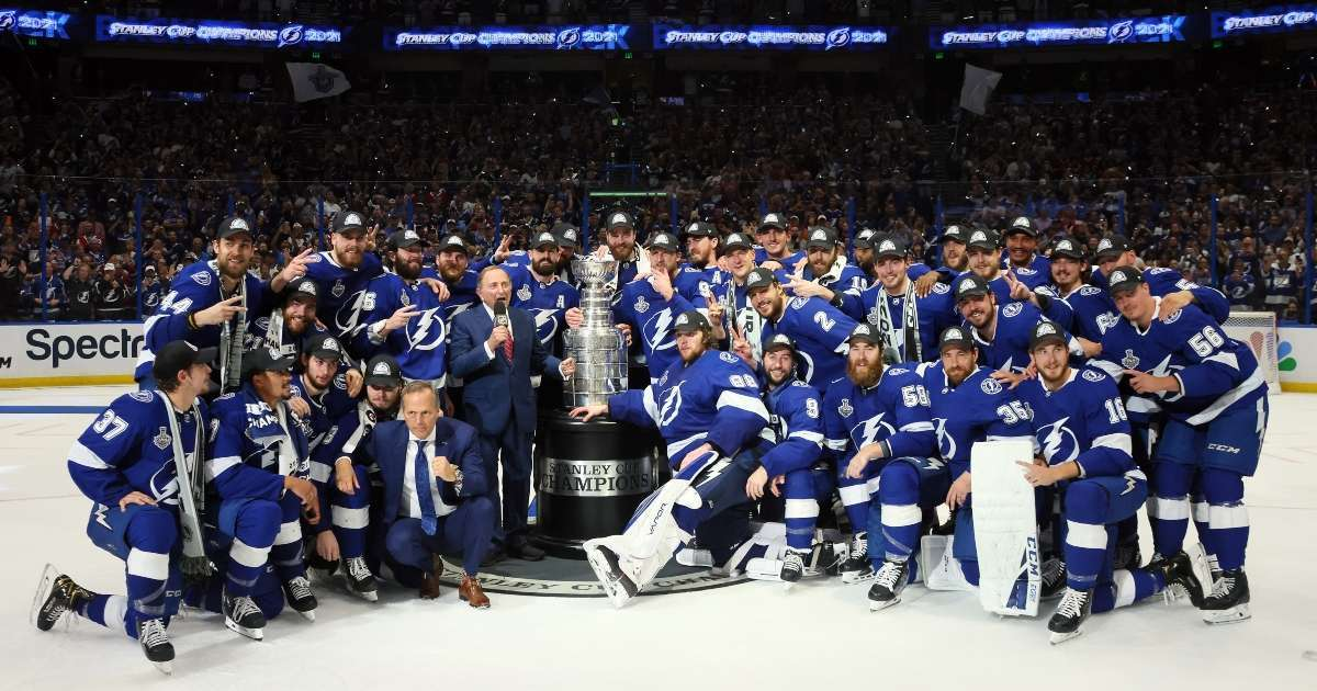 Tampa Bay lighting win Stanley Cup 2021