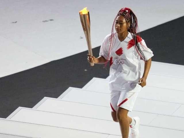 Tokyo Olympics 2021: Naomi Osaka Lights Cauldron at Opening Ceremony