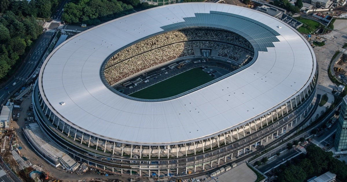tokyo olympics stadium getty images