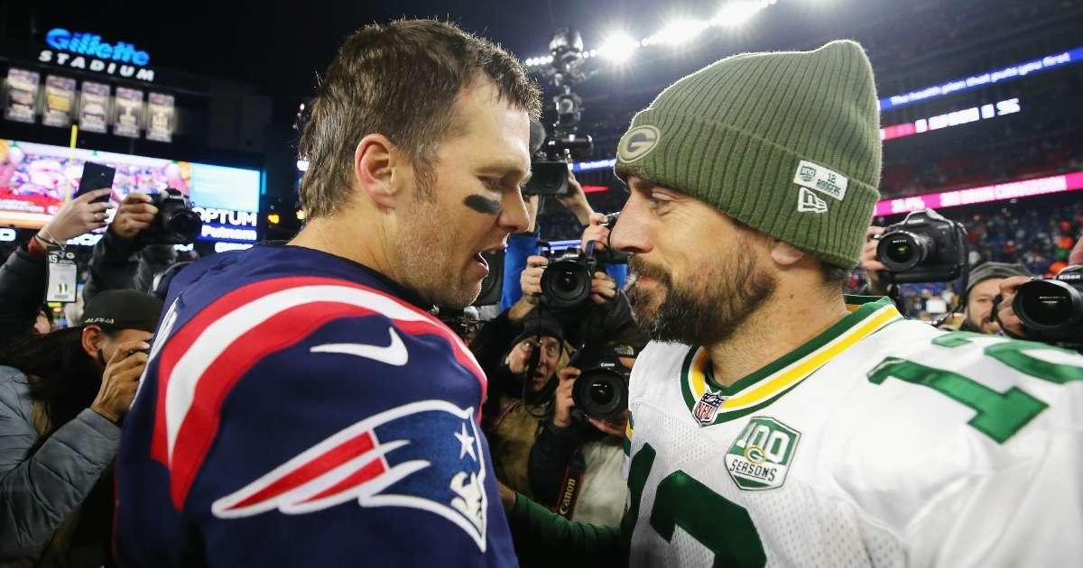 Tom Brady trolls Aaron Rodgers over Packers drama