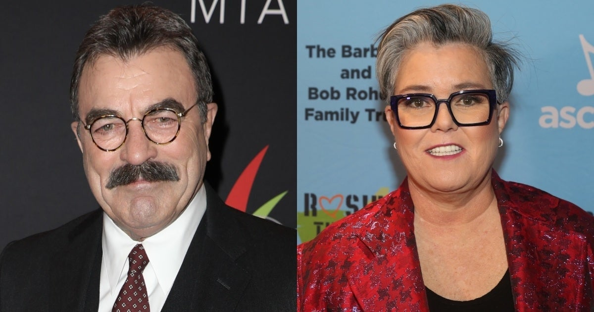 tom selleck rosie o'donnell getty images