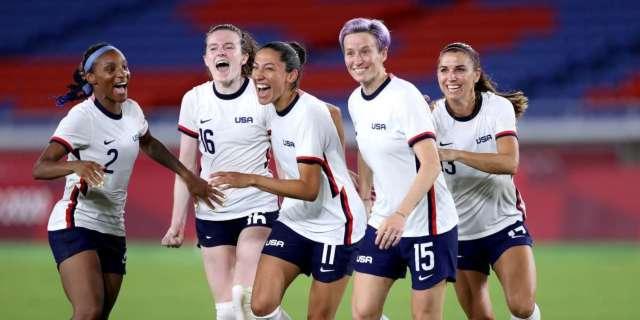 USWNT advances Olympics semifinals win Netherlands