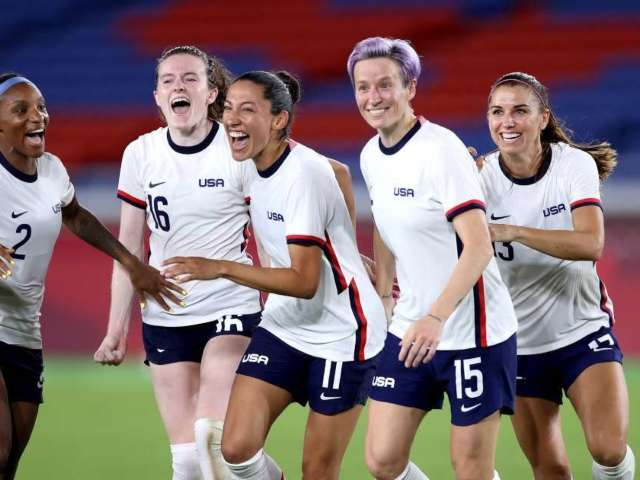 USWNT Advances to Tokyo Olympics Semifinals After Thrilling Win Against the Netherlands