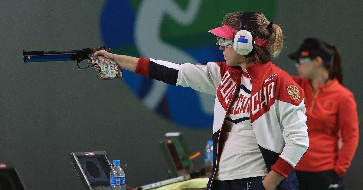 Vitalina-Batsarashkina-olympic-sharp-shooter-witcher-getty