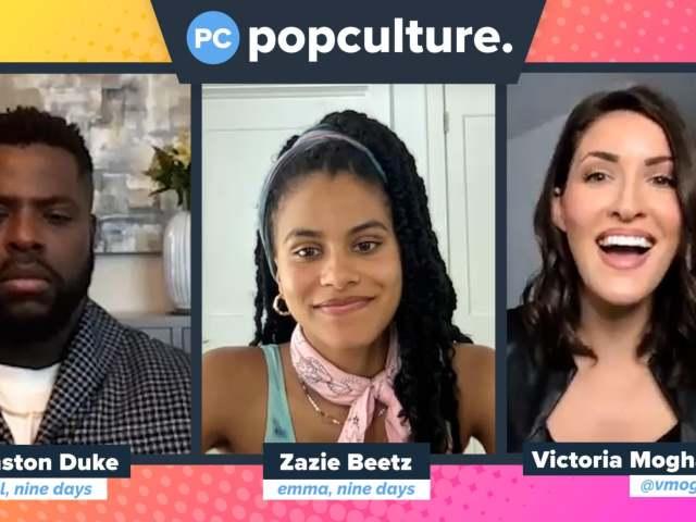 Winston Duke and Zazie Beetz Talk Nine Days - Exclusive Popculture.com Interview