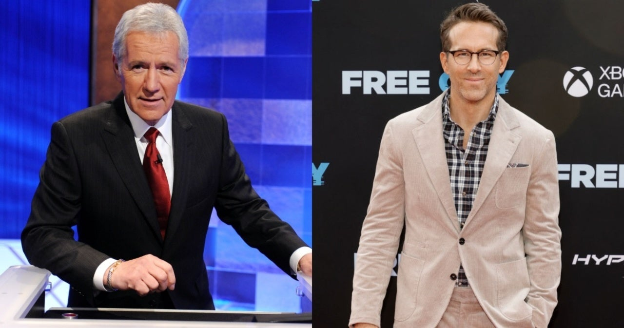 'Jeopardy!': Alex Trebek Had Moving Conversation With Ryan Reynolds Before His Death.jpg