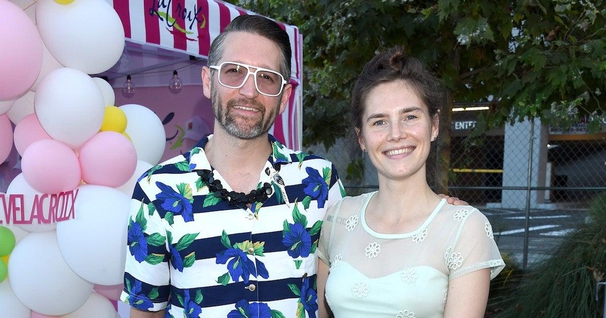 Amanda knox husband