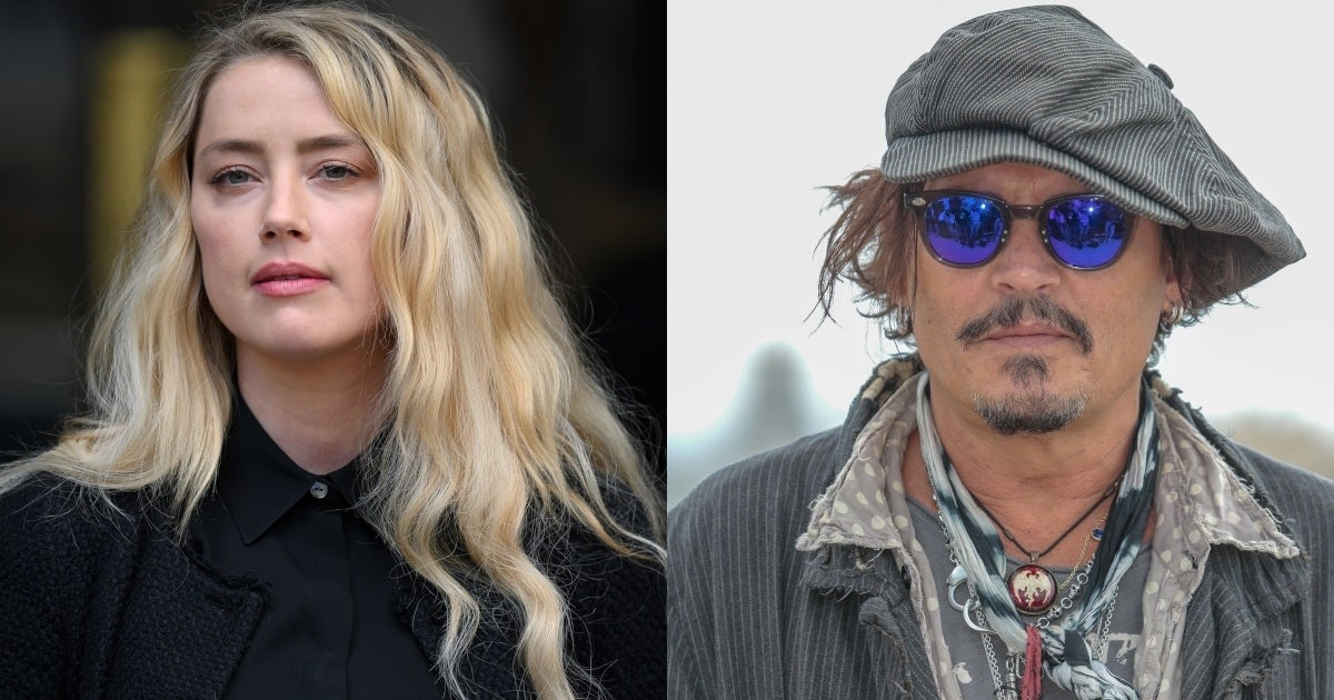 amber heard johnny depp getty images