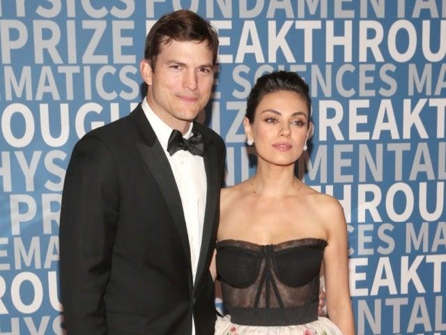 Ashton Kutcher and Mila Kunis Have Perfect Reaction to Igniting Celebrity Bathing Debate