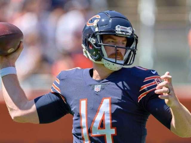 Bears Quarterback Andy Dalton Says 'It's My Time,' Social Media Disagrees