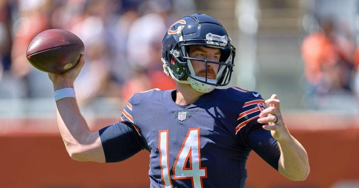 Bears Quarterback Andy Dalton my time social media disagrees