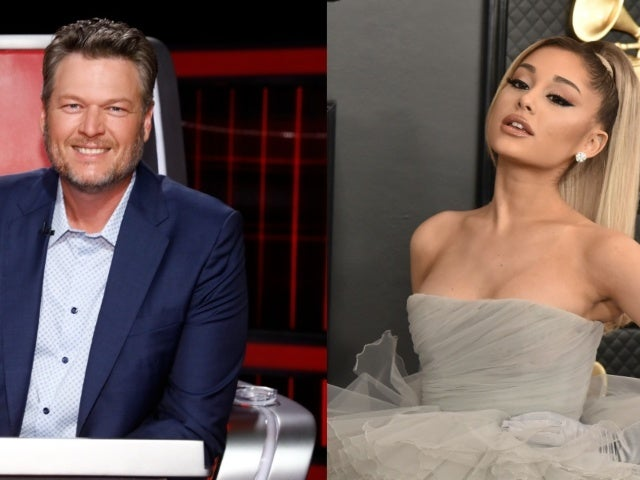 Blake Shelton Says Ariana Grande 'Came Out Swinging' During 'the Voice' Blind Auditions