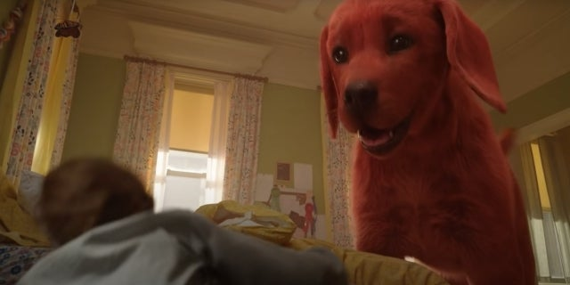 clifford the big red dog paramount