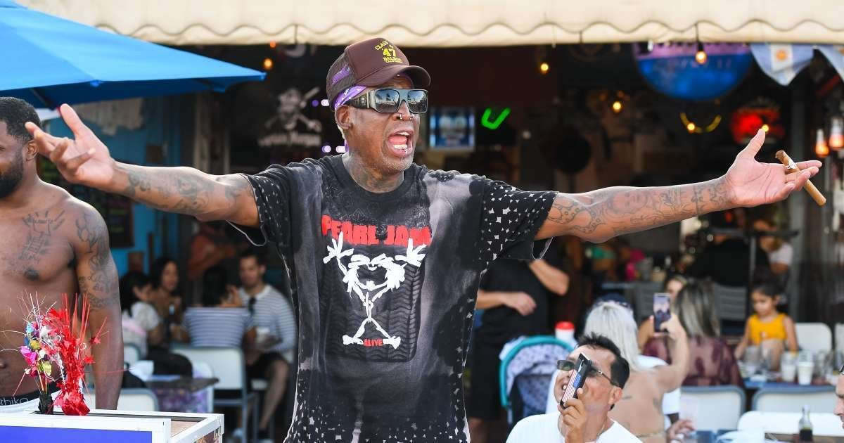 Dennis Rodman 48 hour Las Vegas trip movie