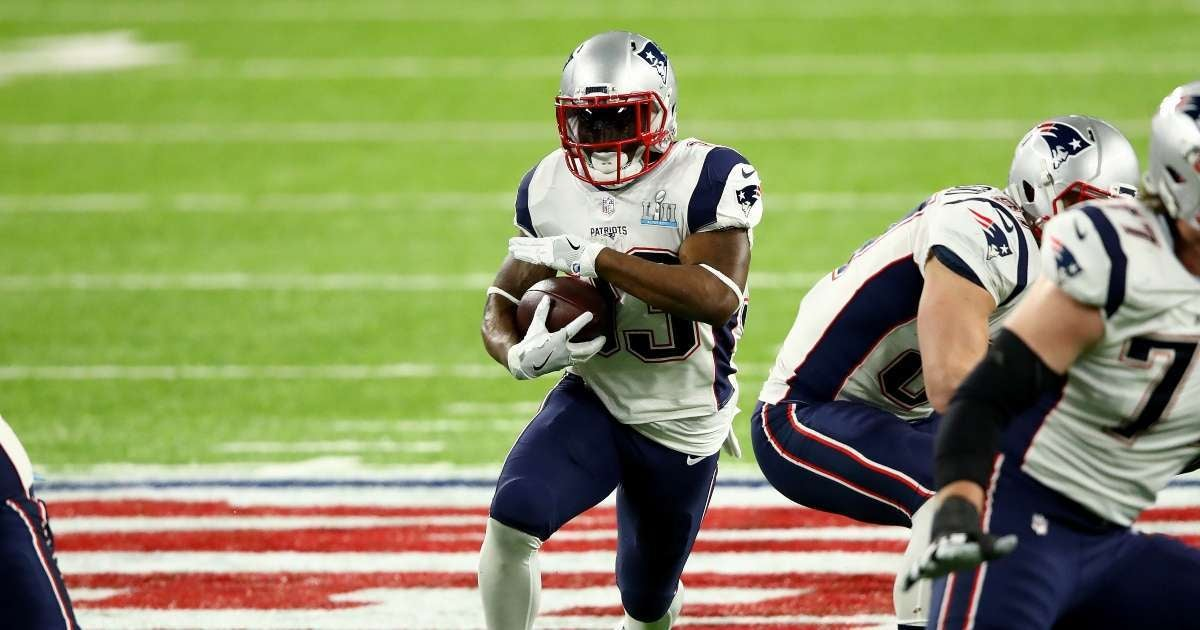 Dion Lewis Patriots Super Bowl champion running back retirement NFL