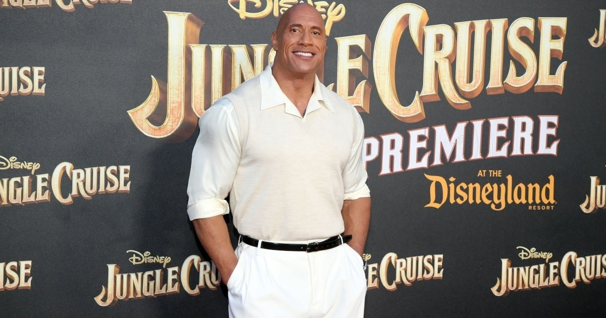 dwayne the rock johnson getty images