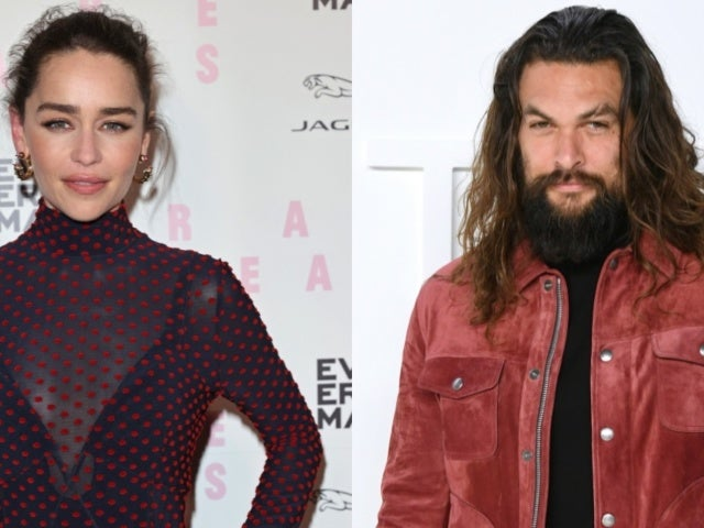 Jason Momoa Sweeps Emilia Clarke off Her Feet During Small 'Game of Thrones' Reunion
