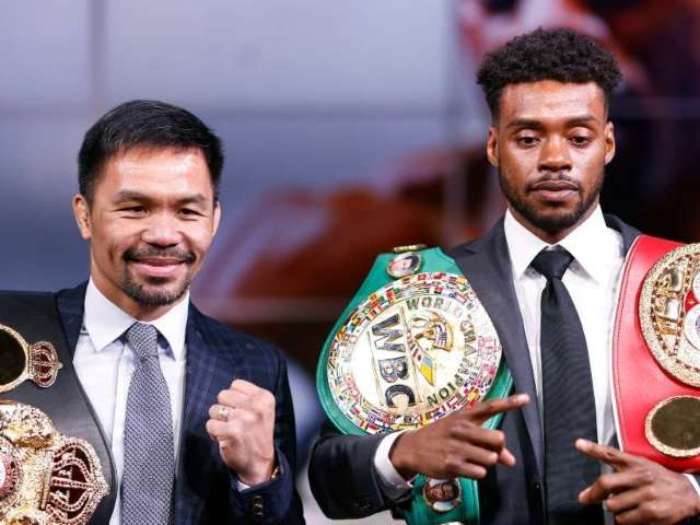 Errol Spence Jr. Withdraws From Championship Fight Against Manny Pacquiao, New Opponent Announced