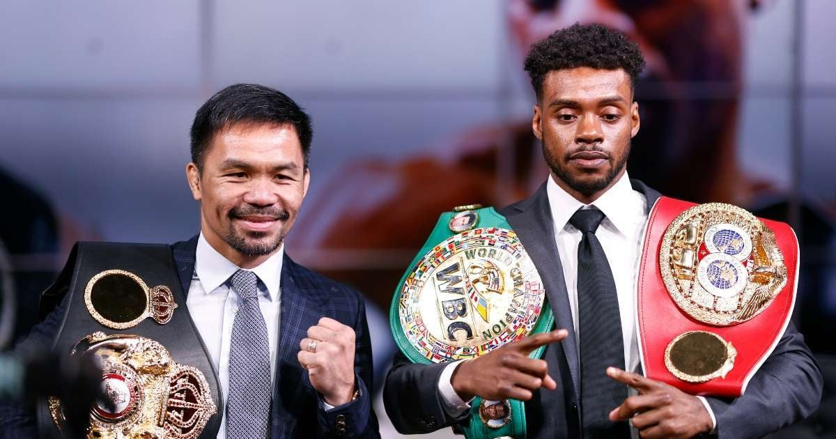 Errol Spence Jr withdraws fight Manny Pacquiao new opponent announced