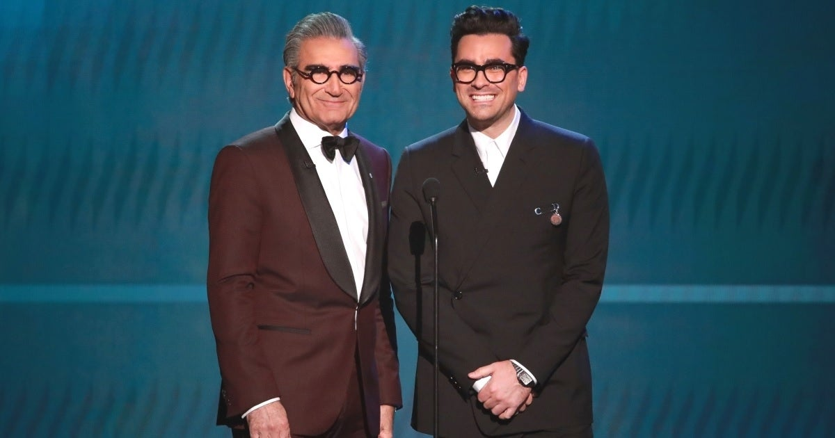 eugene levy dan levy getty images