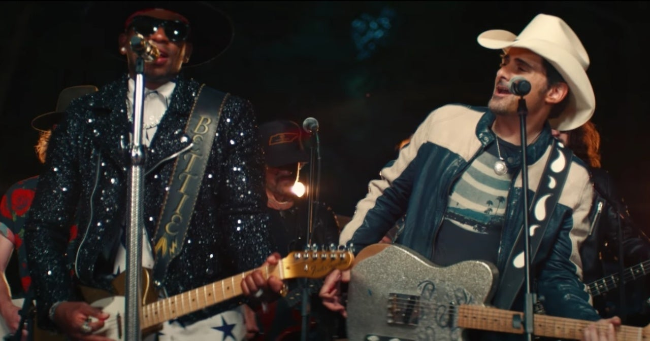 Jimmie Allen and Brad Paisley Drop 'Freedom Was a Highway' Music Video.jpg