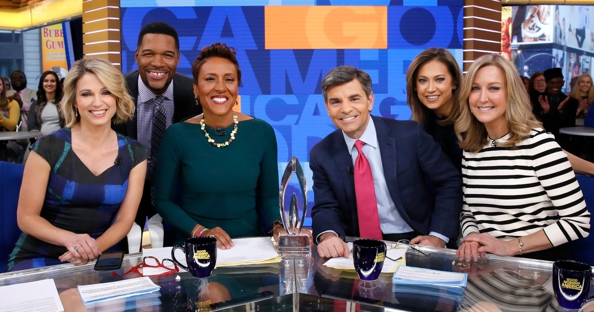 good morning america anchors getty images abc