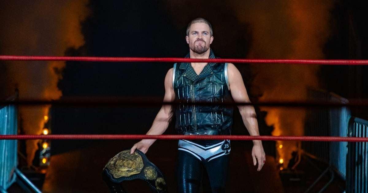 Heels Stephen Amell Cody Rhodes help prepare series
