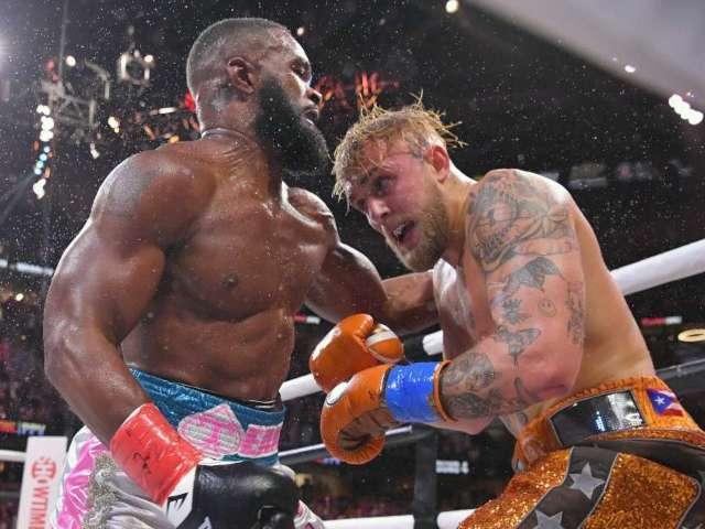Jake Paul vs. Tyron Woodley: Fans Brawl Before Boxing Match