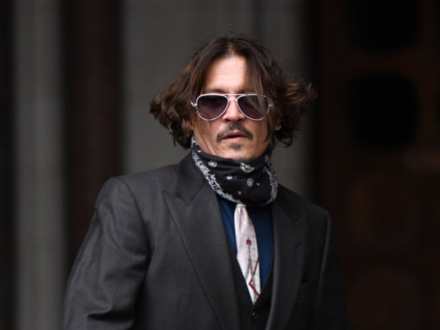 Johnny Depp's Latest Movie Airing on TV This Weekend