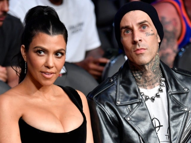 Kourtney Kardashian Gets as Close as Possible to Travis Barker in Latest Steamy Snapshot