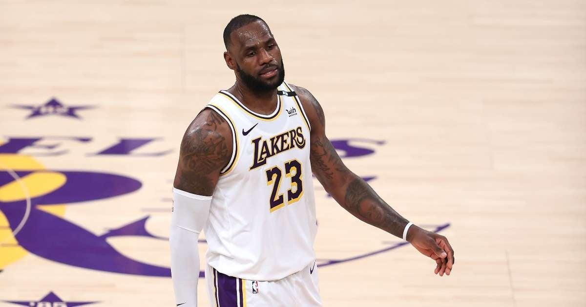 LeBron James reacts zeron votes NBA best player