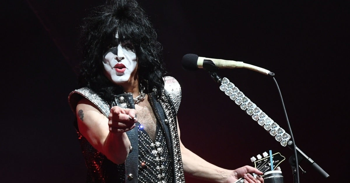 paul stanley getty images