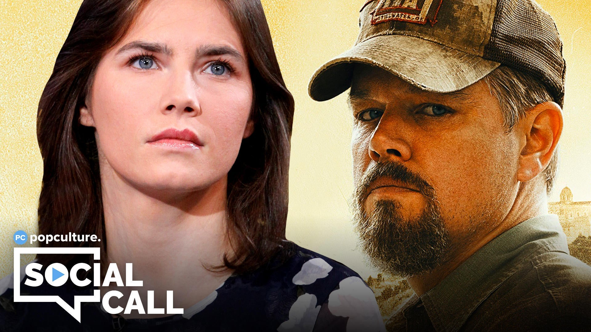 Popculture Social Call - Amanda Knox and Stillwater - Why Matt Damon's New Movie Is Being Slammed by Its Real-Life Inspiration