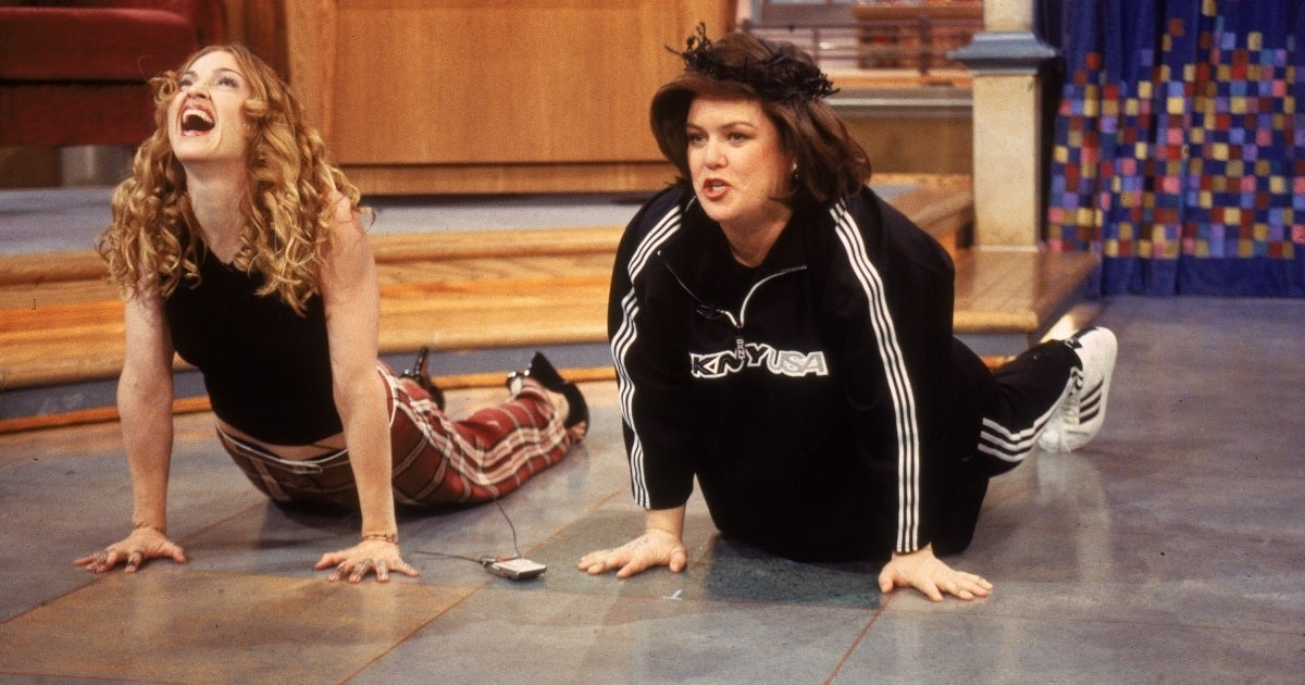 rosie o'donnell show getty images