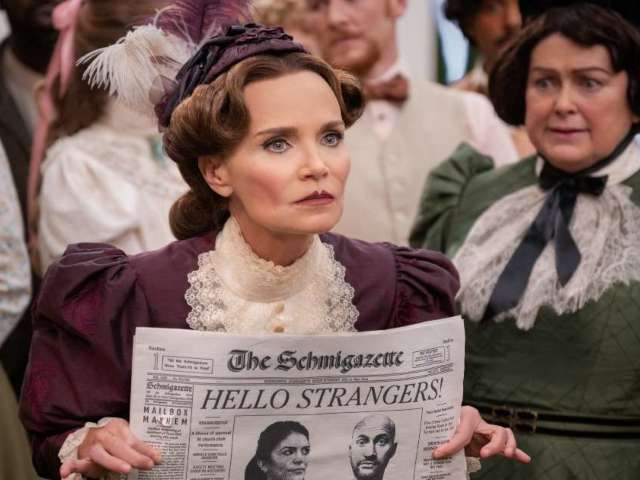 'Schmigadoon!' Star Kristin Chenoweth Describes Her Character With 2 Intriguing Words (Exclusive)
