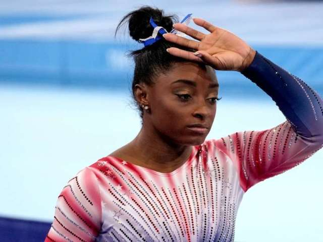 Simone Biles Attacked by Dog, Required Medical Attention