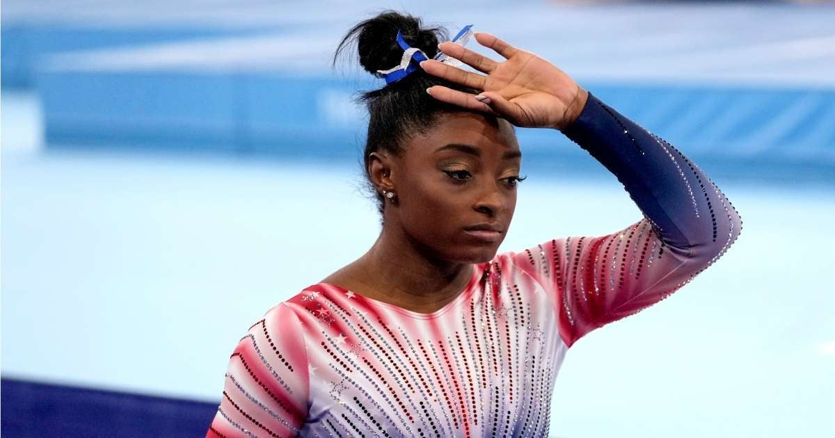 Simone Biles attacked dog medical attention