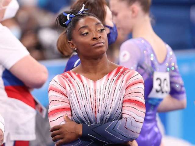 Simone Biles Gets Candid About Her Mental Health at Tokyo 2020 Olympics