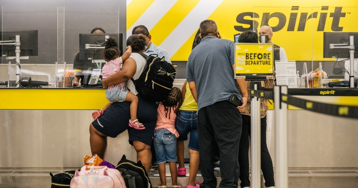 spirit airlines customers getty images