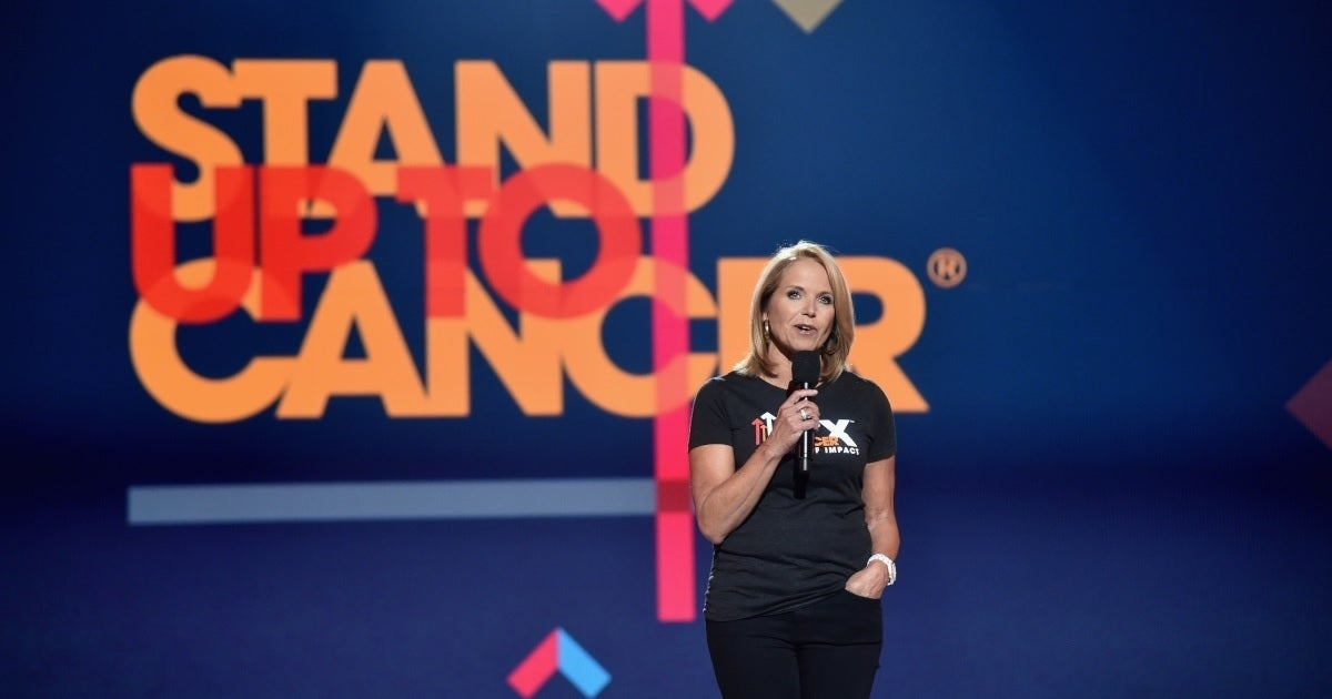 stand up to cancer katie couric getty images