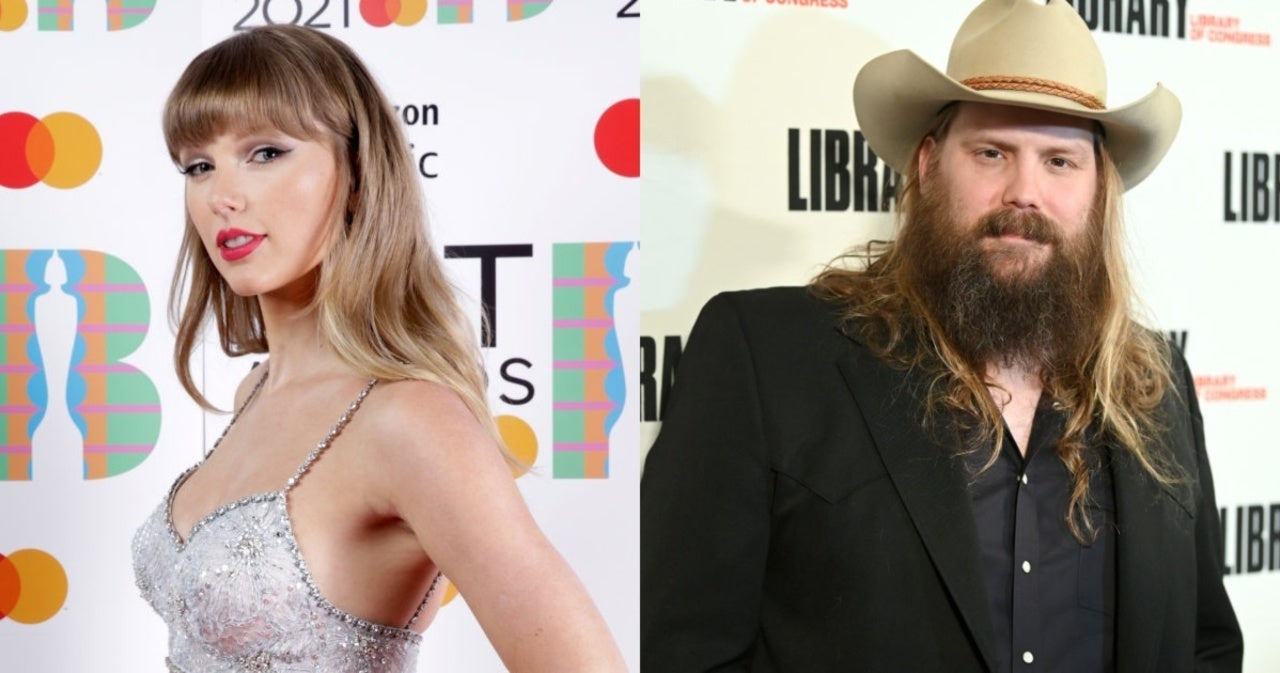 Taylor Swift Appears to Tap Chris Stapleton for Upcoming Album 'Red (Taylor's Version)'.jpg