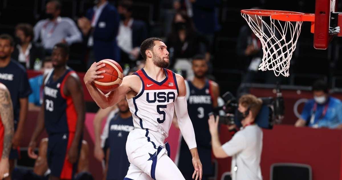 Team USA basketball wins gold medal beating France Tokyo 2020 Olympics