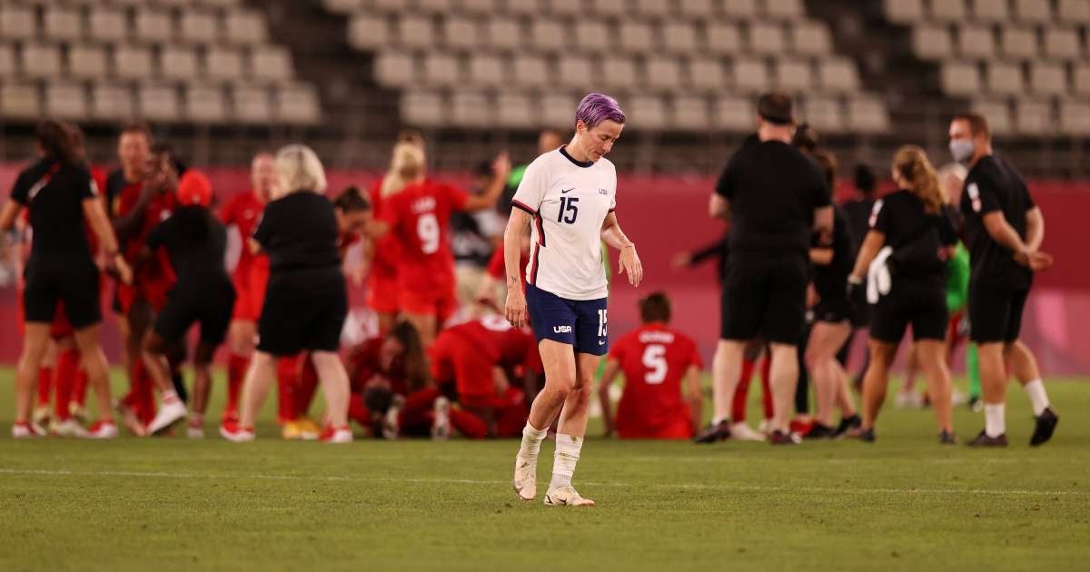 USWNT misses gold medal losing Canada Olympics semifinals
